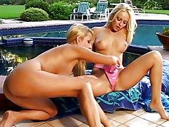 Big Tits Lesbian Blonde Big Tits Bikini Blonde Caucasian High Heels Lesbian Licking Vagina Masturbation Oral Sex Outdoor Pool Pornstar Shaved Toys Vaginal Masturbation Jana Cova