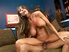 stockings milf mature threesome dp cocks heels mom double 3some foxxx jillian teamed dped