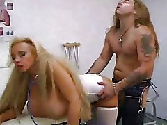 Mega Big Tits Nurses Titjob