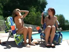threesome pov pornstar groupsex reality bikini oil tight skinny natural wet brunette red head ass close up outdoor pool kissing blowjob teasing hardcore riding tattoo fingering doggystyle cumshot facial cum swapping teen groupsex orgy