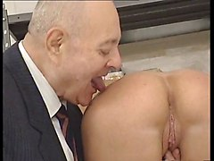 Fingering Old+Young Upskirts