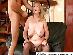 Big Tits Mature Moms and Boys