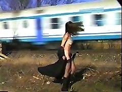 Aldonze Bitch C Nude By Train Tracks