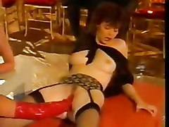 Bizarre Stockings fisting mature