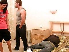 Group Sex Teen Threesome
