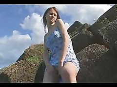 Masturbation Outdoor Teen