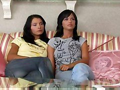 sensual lesbians masturbation sister family caught