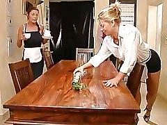 FFM Maids Threesome hardcore maids porn