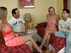 Babes Foursome Group Sex