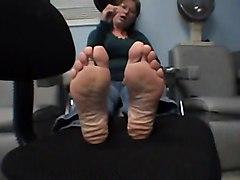 Foot Fetish Matures POV