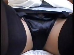 Close ups Flashing Stockings