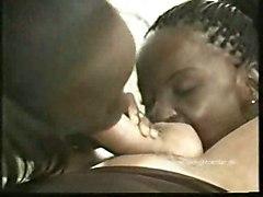 anal pussy black fucking hot ebony twins