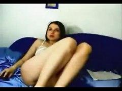 Hot Latina Masturbates In Her Bedroom