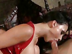 Cum Swallowing Gothic Milf