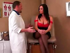 stockings sex hardcore creampie milf blowjob brunette mature bigtits bigass doctor patient