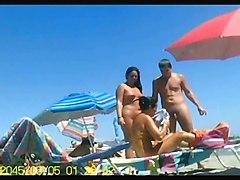 Beach Public Nudity Voyeur