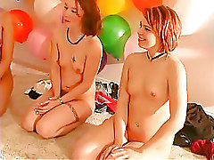 Amateur Lesbian blowjob fucking
