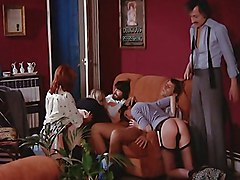 Group Caucasian Group Sex Spanking Vaginal Sex