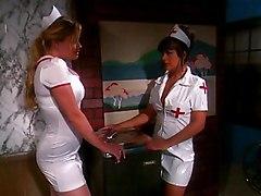 Blonde Lingerie Blonde Caucasian Couple High Heels Hospital Licking Vagina Lingerie Nurse Oral Sex Pornstar Position 69 Vaginal Sex Nina Ferrari