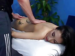 Massage Tattoo Teen blowjob fucking