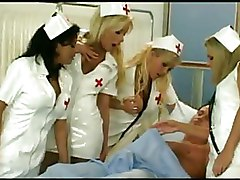 Group Sex Nurses boots white stockings