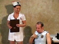 thighhigh stockings nurse analsex uniform office
