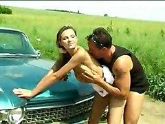 Public Blonde Blonde Blowjob Car Caucasian Couple Cum Shot Kissing Licking Vagina Masturbation Oral Sex Public Vaginal Masturbation Vaginal Sex