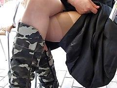 Public Nudity Upskirts Voyeur