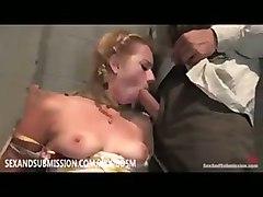 submission bondage blowjob oral deep throat suck
