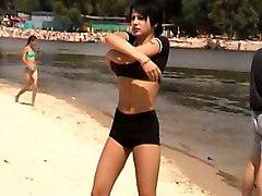 beach voyeur teen public