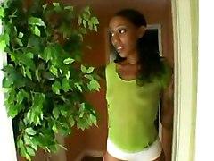 dildo lesbian black ebony blackwoman bigass strapon