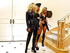 Lesbian Anal Blonde Anal Masturbation Blonde Boots Caucasian Fetish High Heels Lesbian Masturbation Piercings Toys Vaginal Masturbation