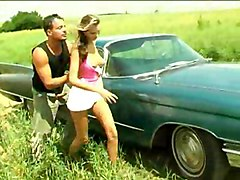Public Blonde Blonde Blowjob Car Caucasian Couple Cum Shot Kissing Licking Vagina Masturbation Oral Sex Public Vaginal Masturbation Vaginal Sex