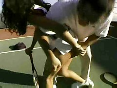 Mom And Daughter Fuck Tennis Coach