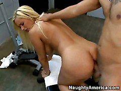 big tits naughty america blonde busty anal