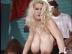 European Group Sex busty german orgy
