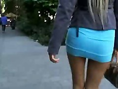 Blondes Public Nudity Voyeur