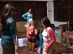 Teens Lesbian Caucasian Lesbian Party Teen
