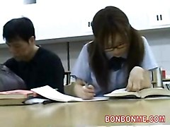 asian jap japanese schoolgirl glasses teen pigtail fingering pussyfucking hardcore blowjob