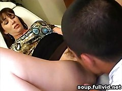 milf brunette pussylicking oral reality straight