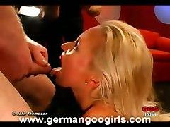 ggg bukkake johnthompson germangoogirls blonde blo
