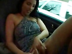 Amateur Car Masturbation