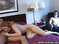 housewife blowjob voyeur reality blonde straight hardcore amateur