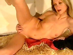 Masturbation Blonde Blonde Caucasian Masturbation Shaved Solo Girl Vaginal Masturbation