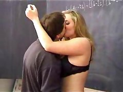 chubby school schoolgirl reality blonde big tits natural pussylicking doggystyle cumshot facial