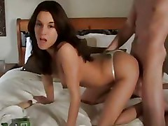 Bedroom Doggy Style brunettes thongs wives