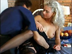 Blondes Hardcore Stockings