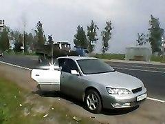 Car Hardcore Teen banged carsex masha