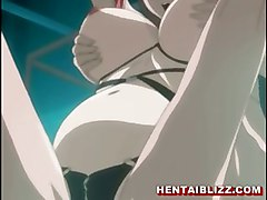 anime hentai hentai cartoon cartoon toon stomach anal dildo