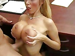 Big Tits Office Riding
